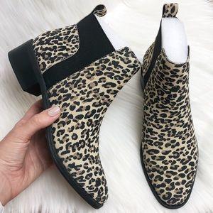 New Dolce Vita Leopard Suede Tristan Bootie